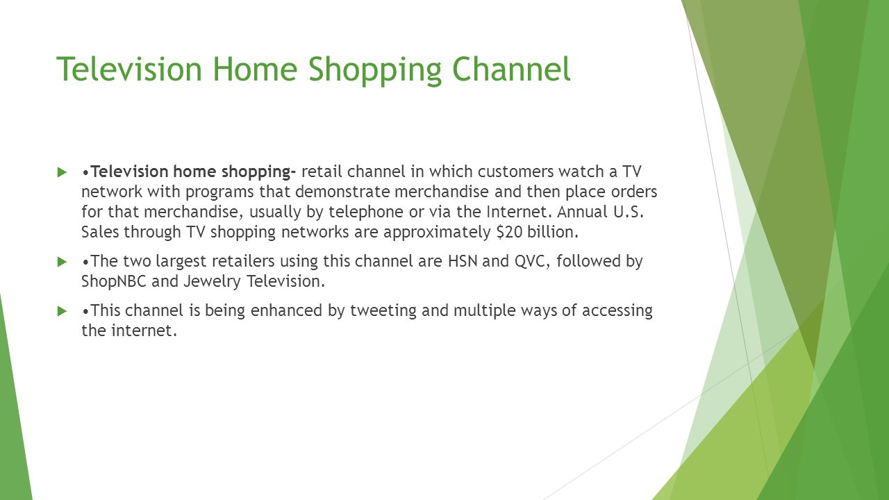 Direct Selling Channel Direct selling- retail channel in which salespeople interact with customers face-to-face in a convenient location, either at the customer's home or at work.