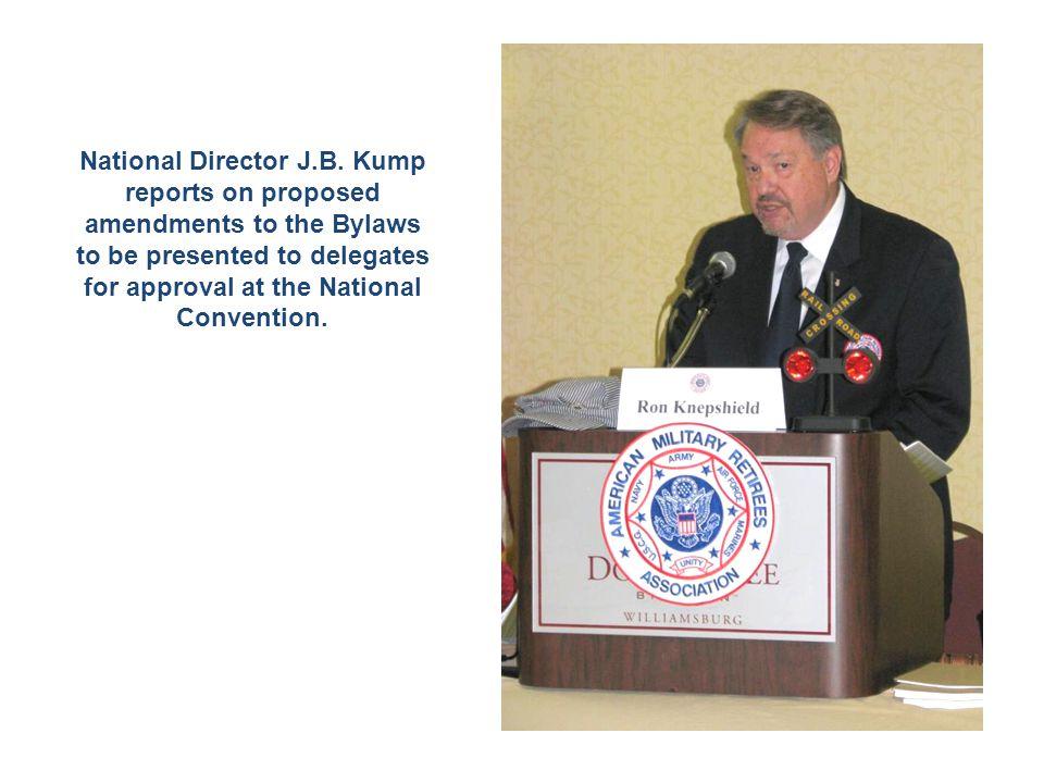 National Director J.B.