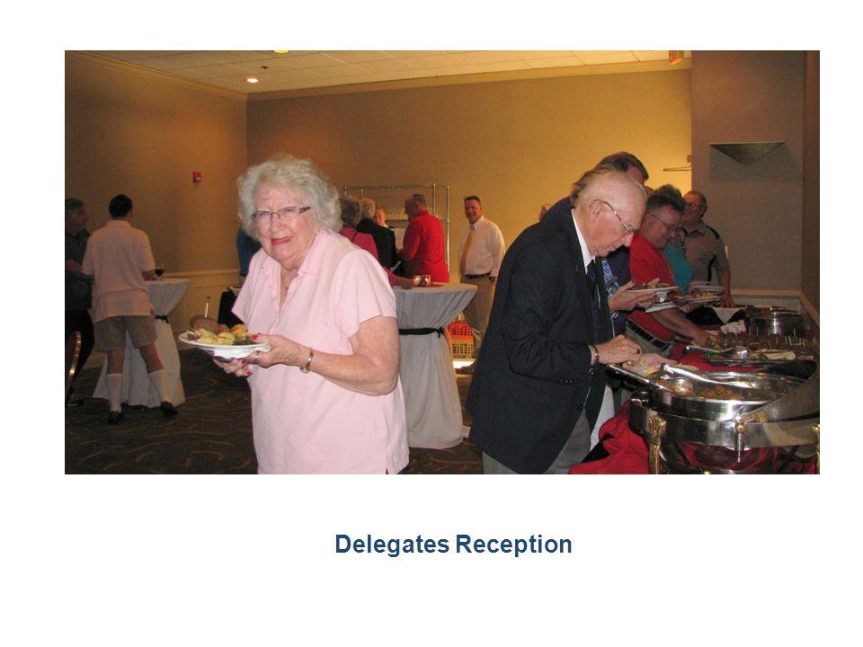 Delegates Reception