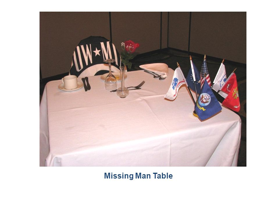 Missing Man Table