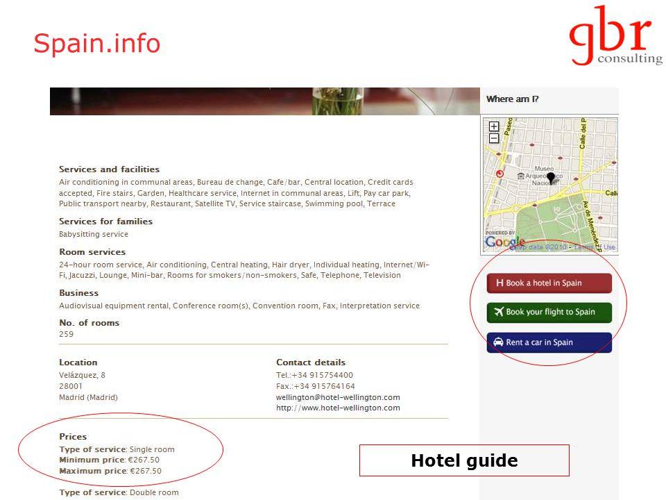 Spain.info Hotel guide
