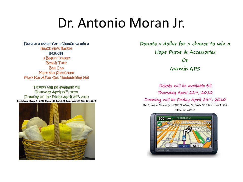 Dr. Antonio Moran Jr.