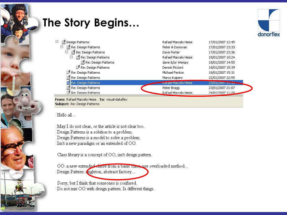 The Story Begins… January 17 th 2007