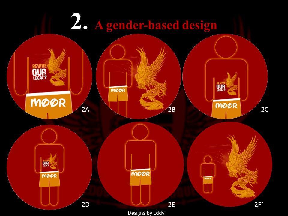 2A2B 2C 2D2E2F` 2. A gender-based design Designs by Eddy