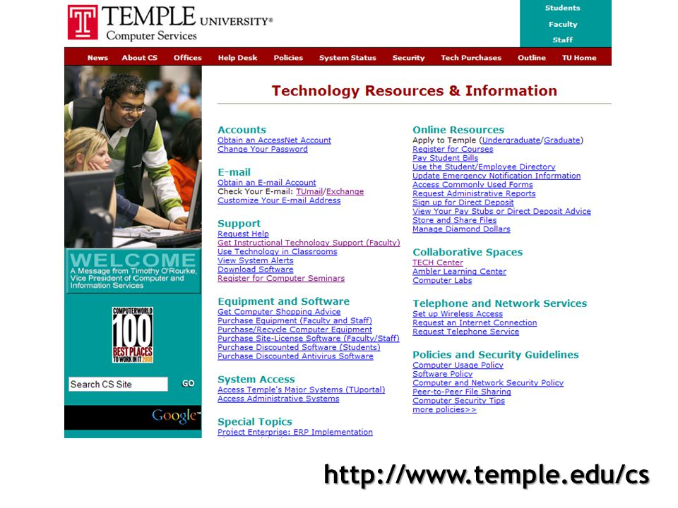 http://www.temple.edu/cs
