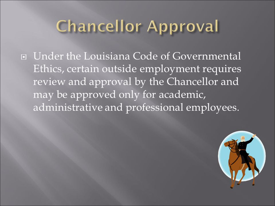  Chancellor Approval  President Approval  Chancellor or Designated Administrative Officer  Joint Appointments