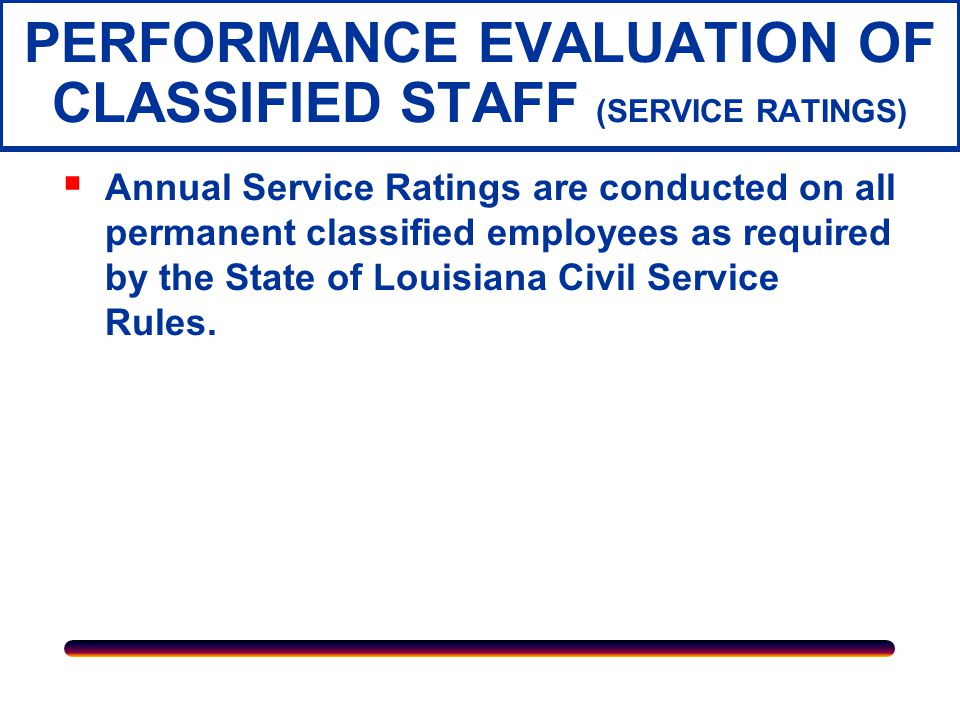 PERFORMANCE EVALUATION OF FACULTY  PERFORMANCE EVALUATION OF FACULTY The formal evaluation process is composed of three parts: Self-Evaluation Evaluation by immediate supervisor or department head Evaluation by appropriate administrative personnel.