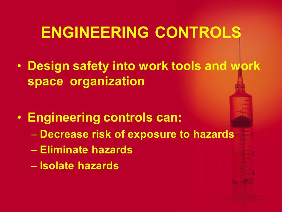 PREVENTION Engineering Controls Work Practice Controls Personal Protective Equipment Universal Precautions