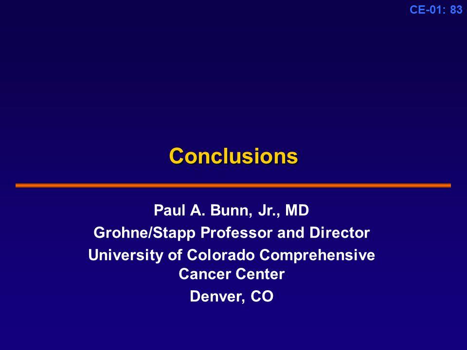 CE-01: 83 Conclusions Paul A.