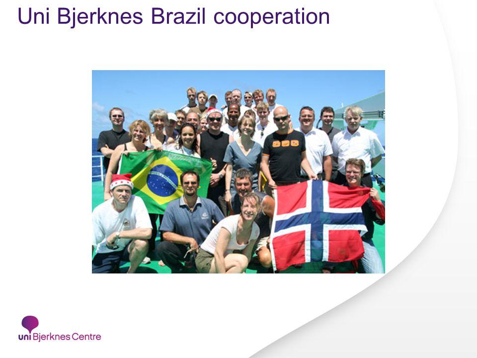 Uni Bjerknes Brazil cooperation