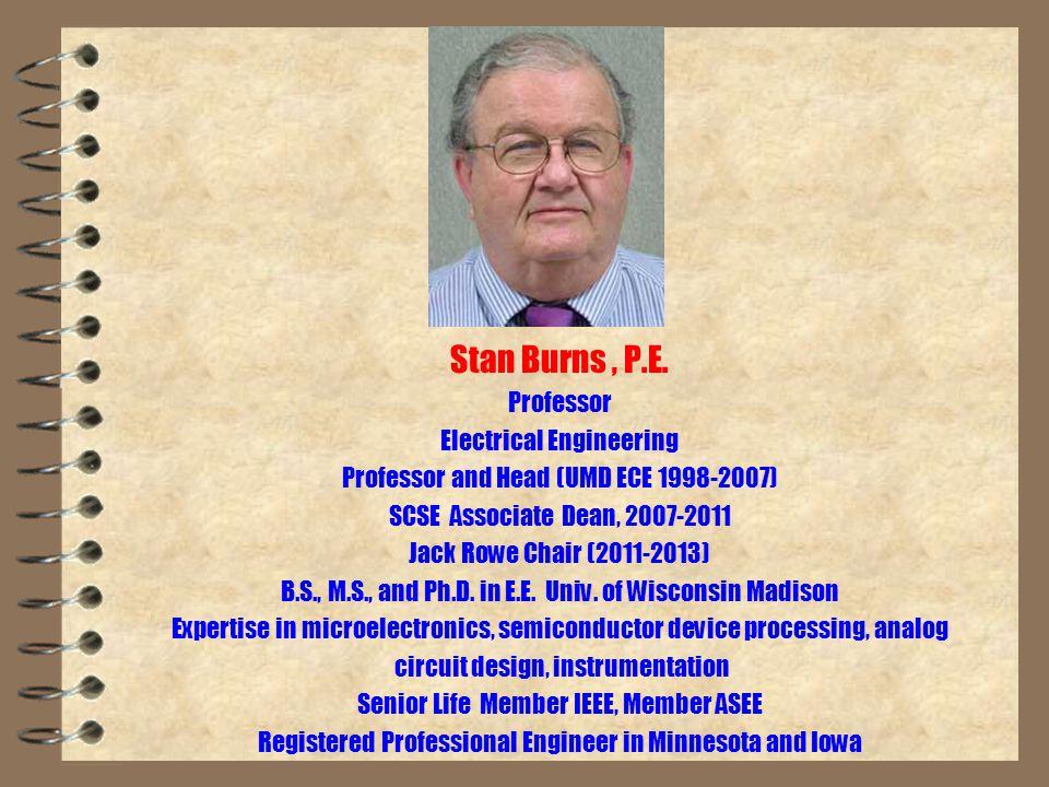 Stan Burns, P.E.