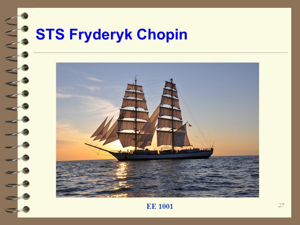 STS Fryderyk Chopin EE 1001 27