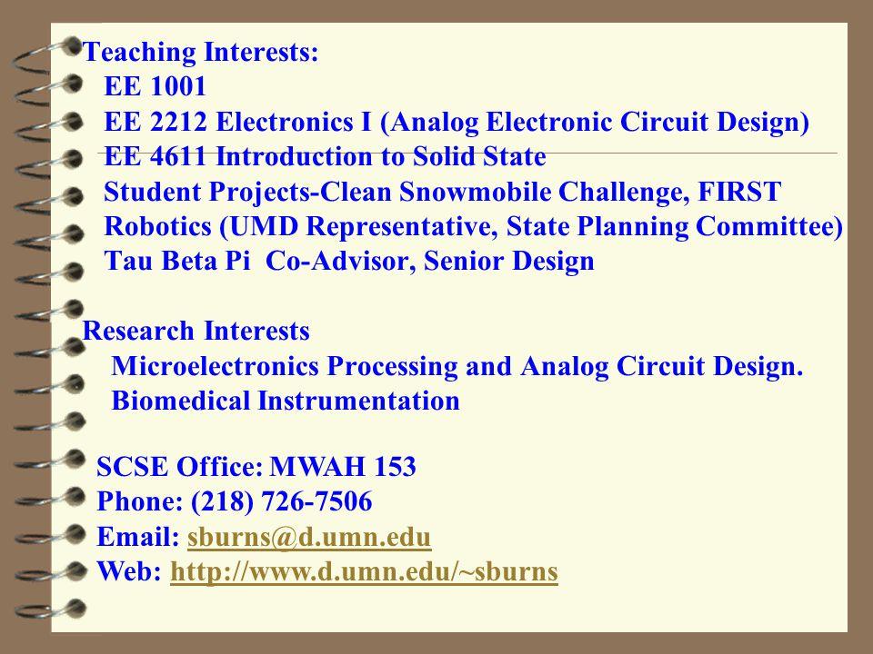 Imran Hayee Professor UMD ECE Since Fall 2004 Director of Graduate Studies Through Spring 2013 Semester Ph.D.