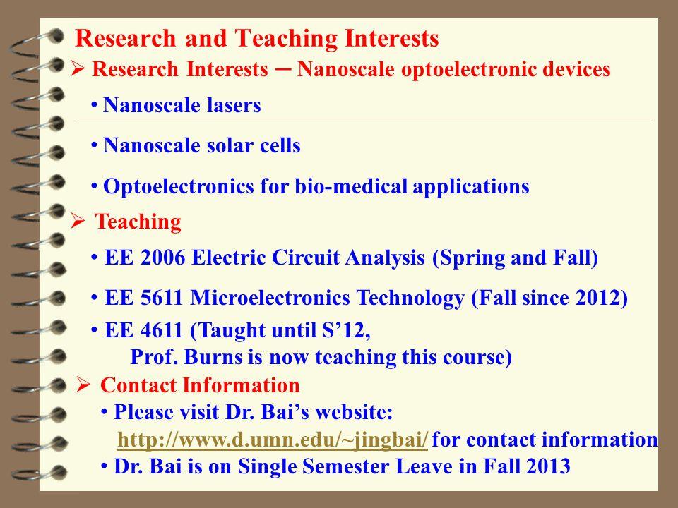 Chris Carroll Associate Professor UMD ECE Since 1988 B.S.