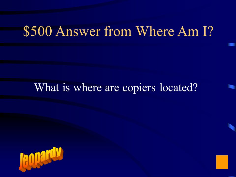$500 Question from Where Am I Diggs, Templin, Hampton III, Hastings