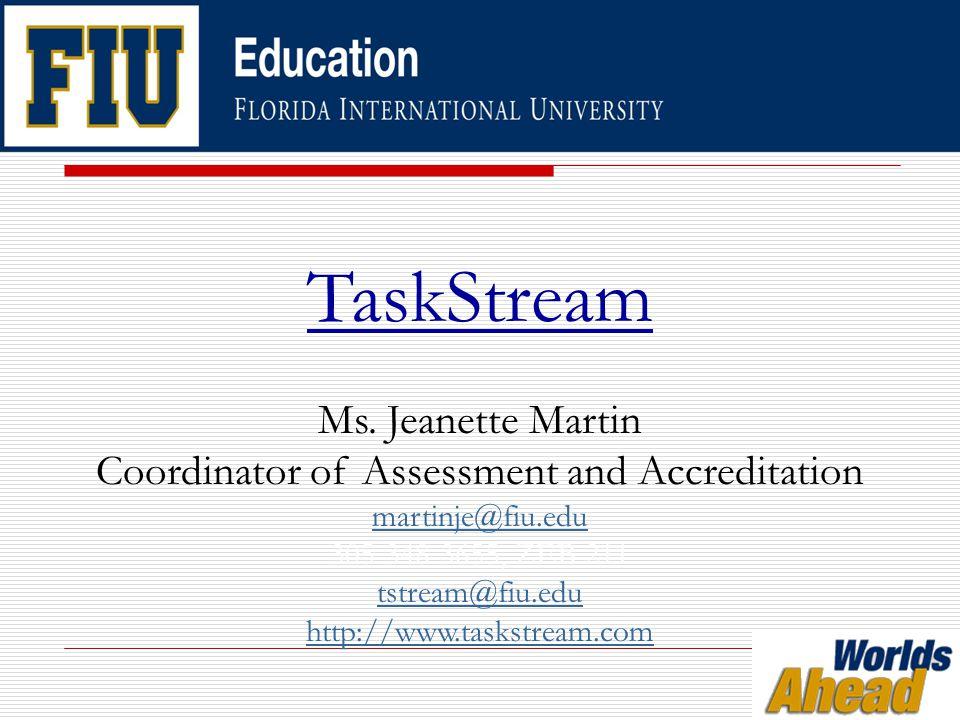TaskStream Ms.