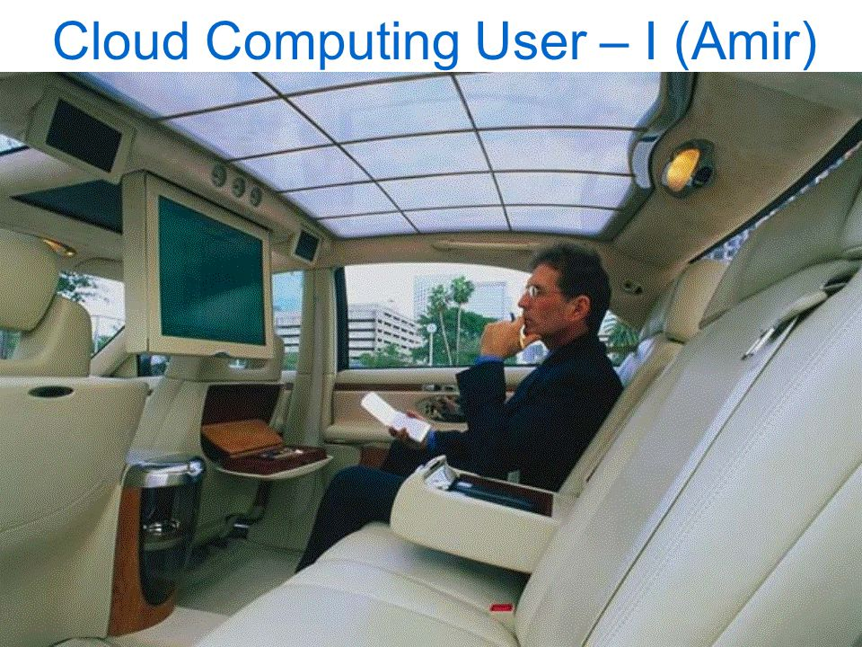 © Asoke K Talukder13 th March 2010Cloud Computing - 15/50 Cloud Computing User – I (Amir)