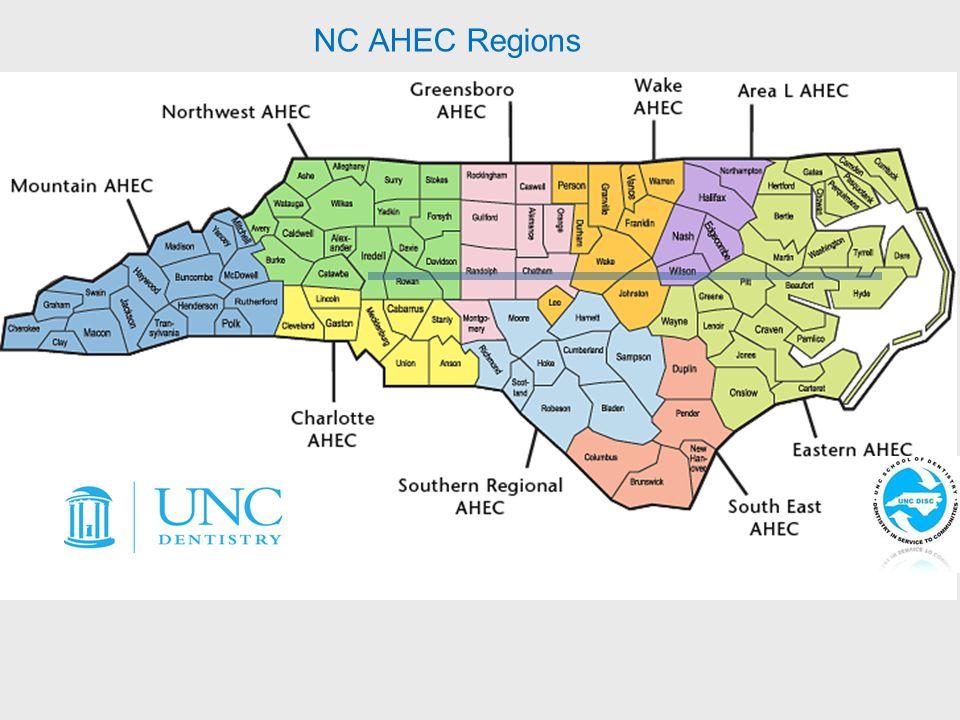 NC AHEC Regions