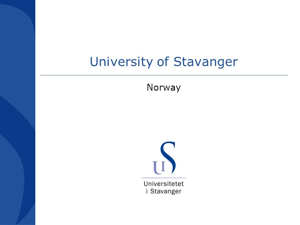 This and other challenges await students in Stavanger