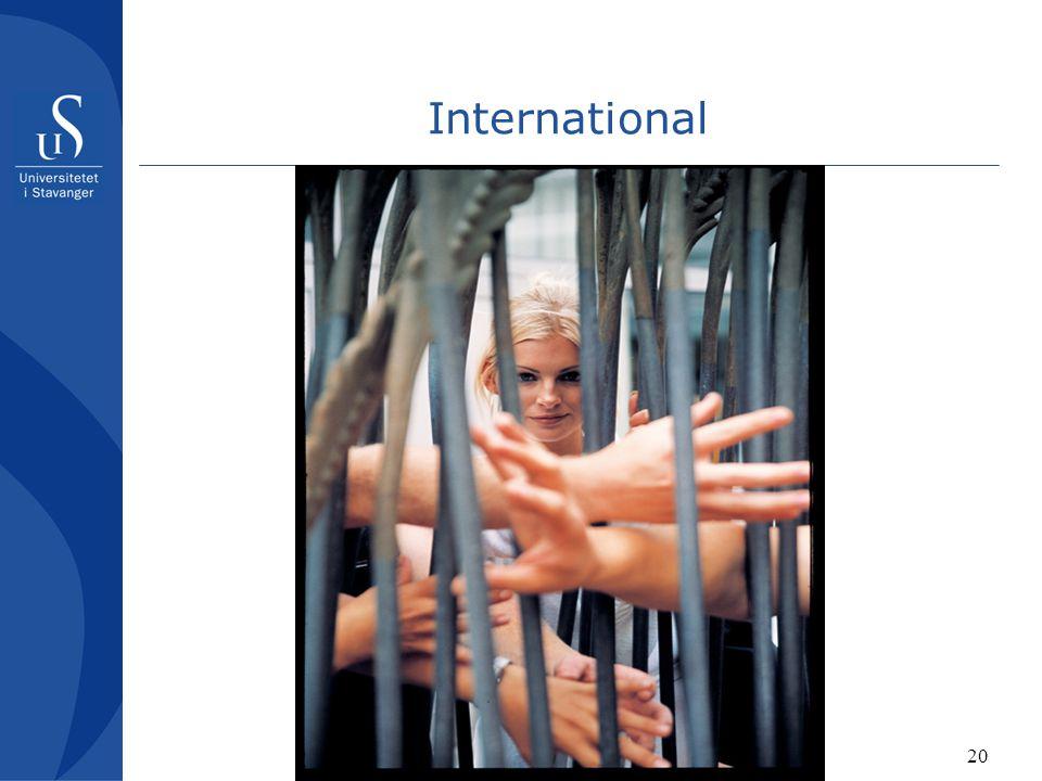 20 International