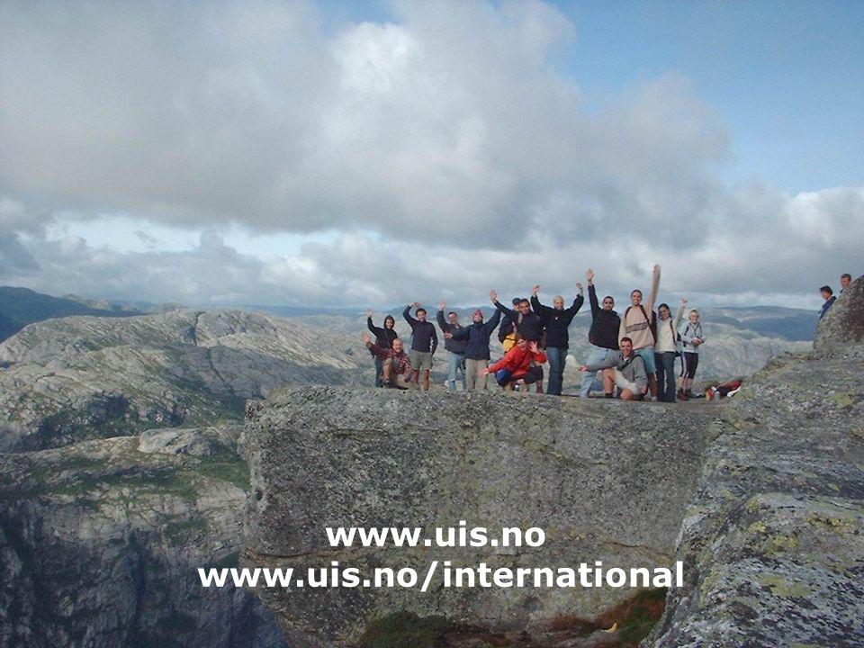 www.uis.no www.uis.no/international