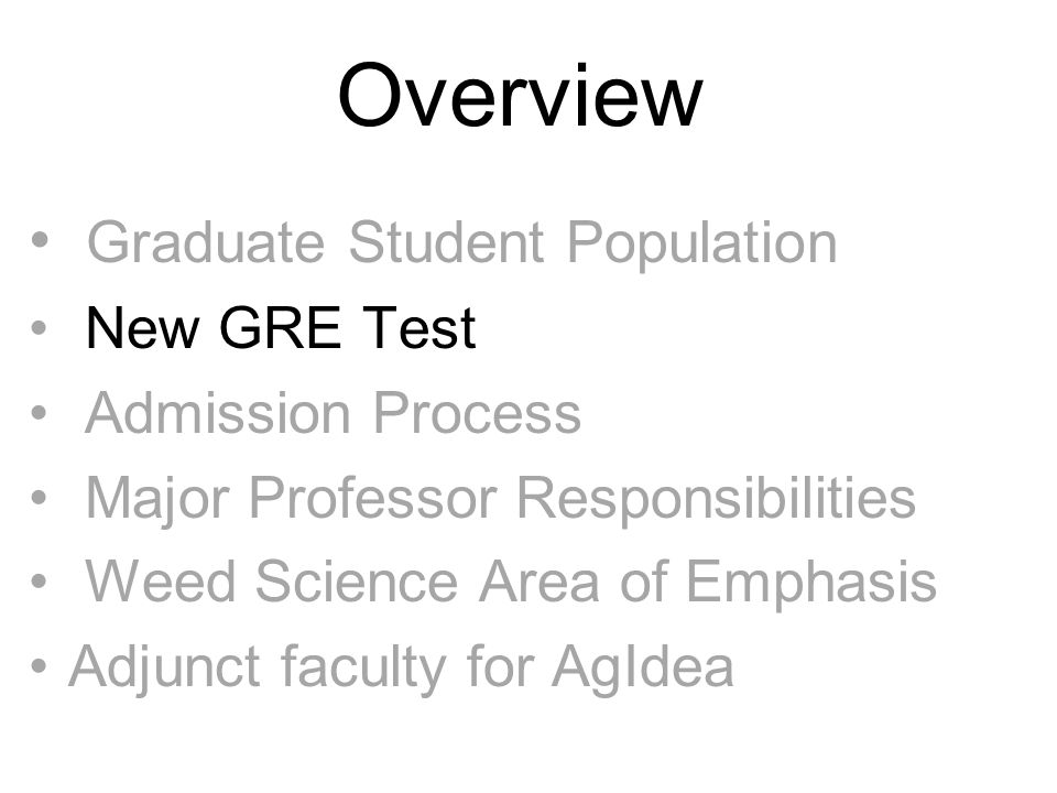 New GRE Test Old GRE: 800 Verbal; 800 Quantitative Old GRE: Maximum score – 1600 New GRE: 170 Verbal; 170 Quantitative New GRE: Maximum score - 340
