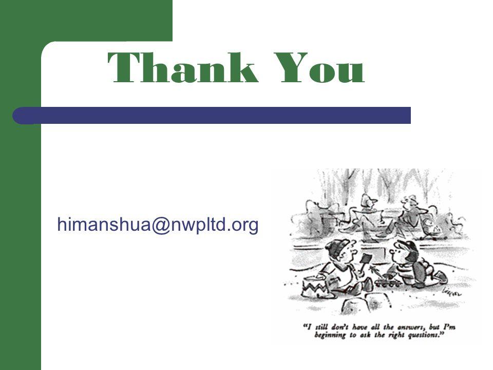 Thank You himanshua@nwpltd.org