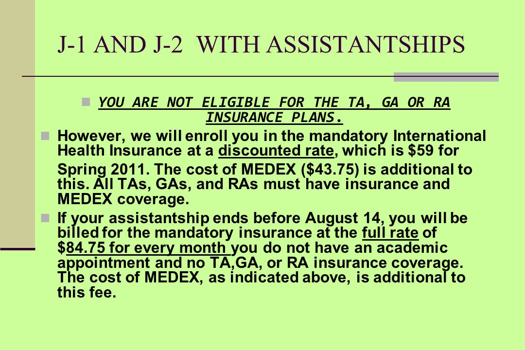 MORE  If there is any gap (even of one day) between the ending date of your TA or GA or RA health insurance coverage, and the extension date of your
