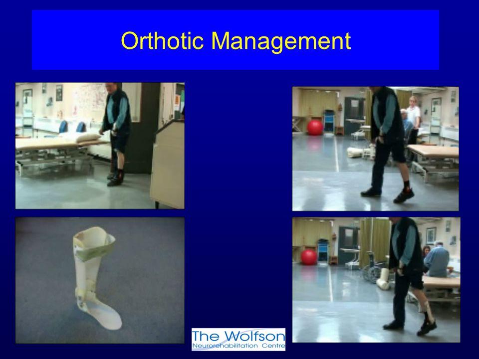 Orthotic Management