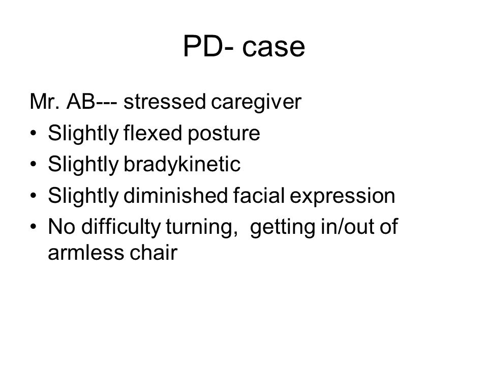 PD- case Mr.