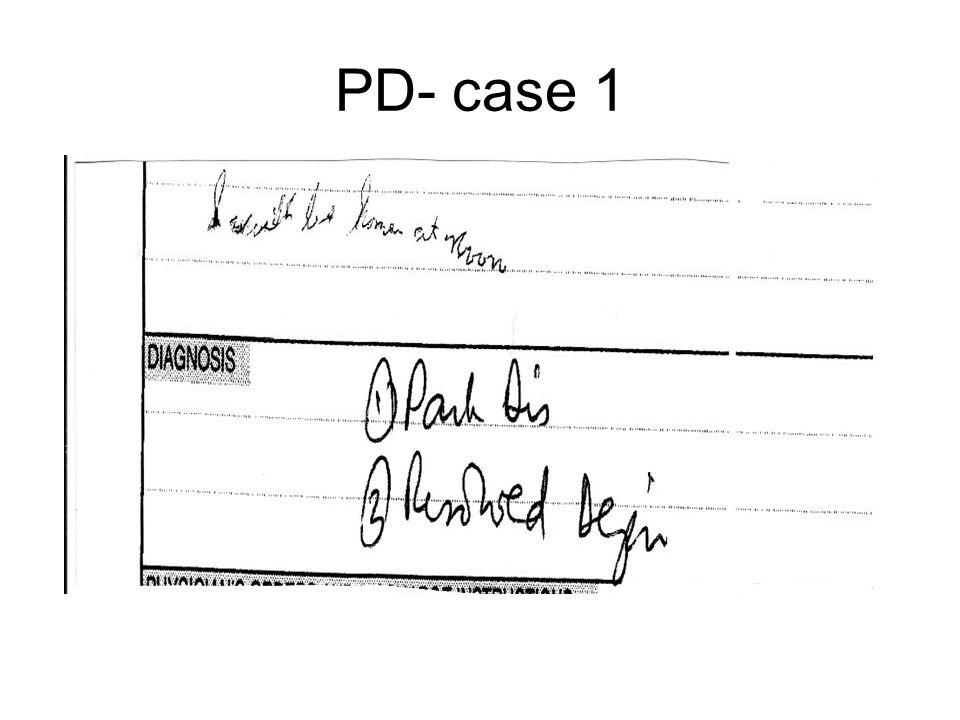 PD- case 1
