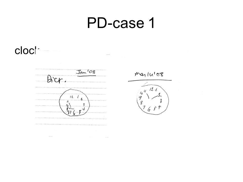 PD-case 1 clock