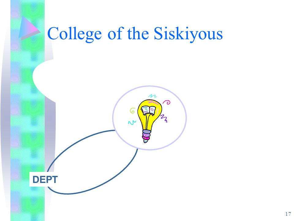 17 College of the Siskiyous DEPT