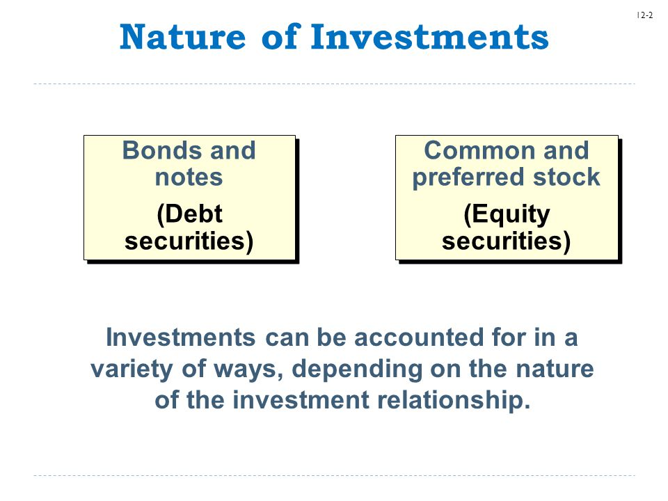 12-63 Equity Method The criteria for applying the equity method are the same in the ASU as in current GAAP.