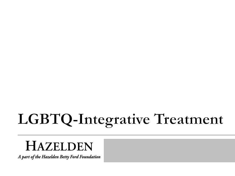 Director of LGBTQ-Integrative Program M.A., Certified Sexuality Counselor, Certified Alcohol and Drug Counselor, and Licensed Professional Counselor Certified by the American Association of Sexuality Educators, Counselors and Therapists (AASECT) Adjunct at Hazelden Graduate School of Addiction Studies My role is 50% clinical and 50% outreach
