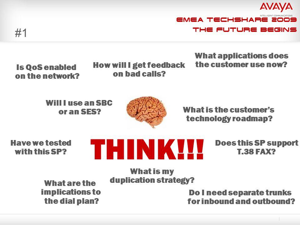 EMEA Techshare 2009 The Future Begins #1 Will I use an SBC or an SES.