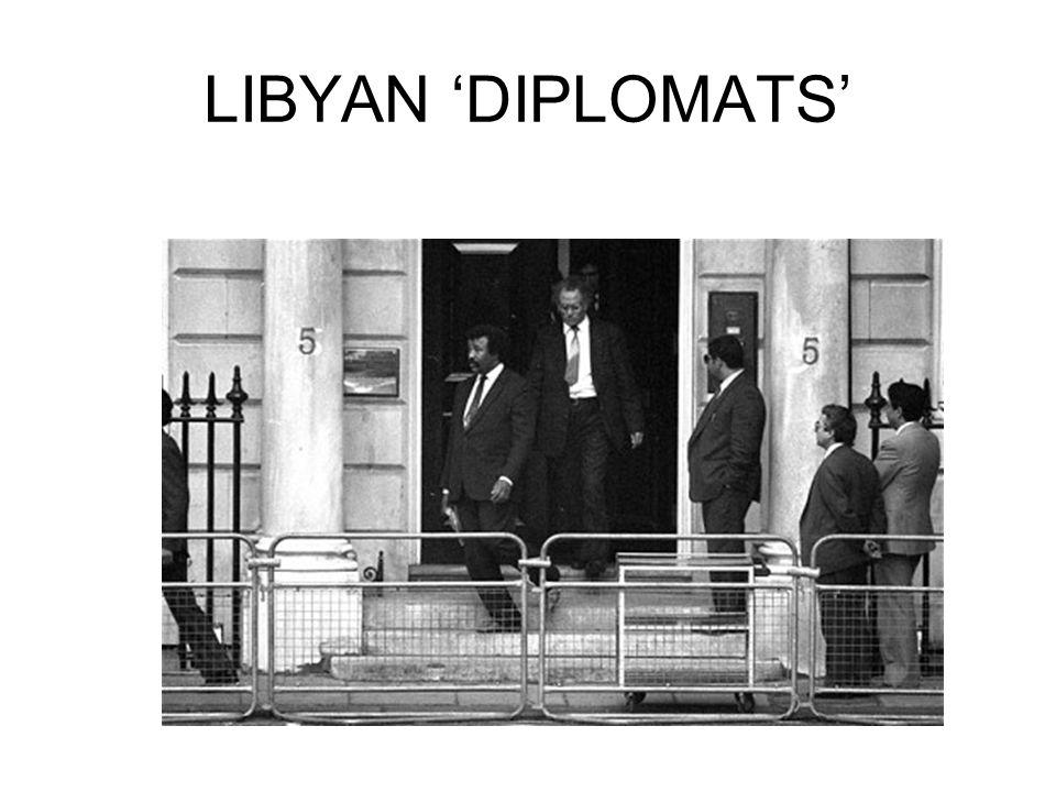 LIBYAN 'DIPLOMATS'