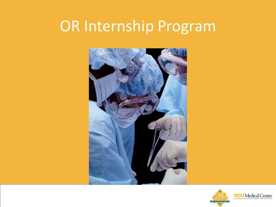 OR Internship Program