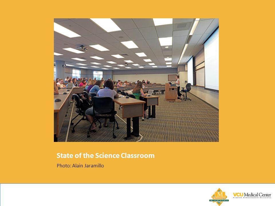 State of the Science Classroom Photo: Alain Jaramillo
