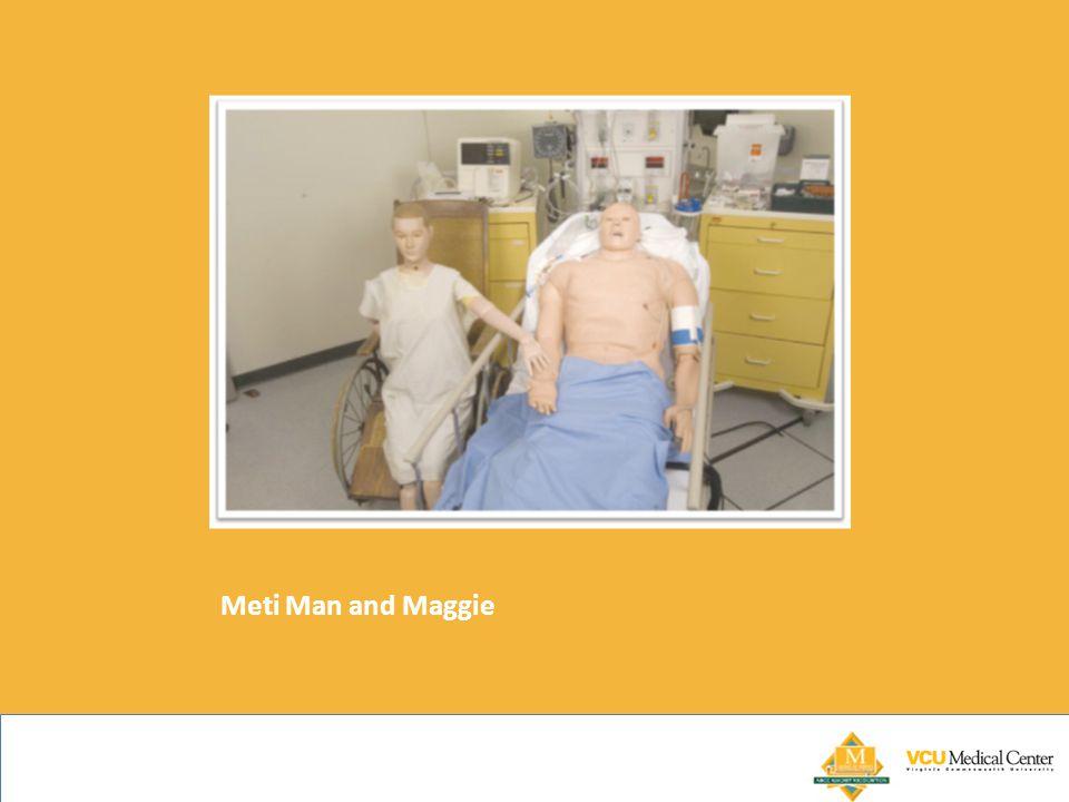 Meti Man and Maggie
