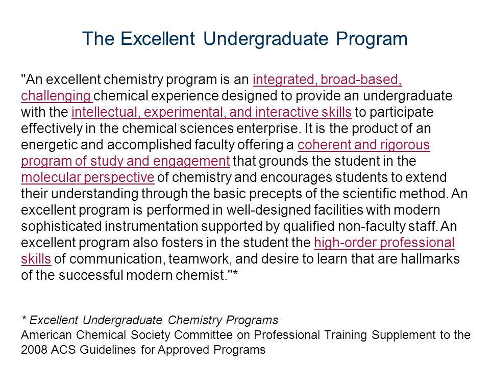 The Excellent Undergraduate Program
