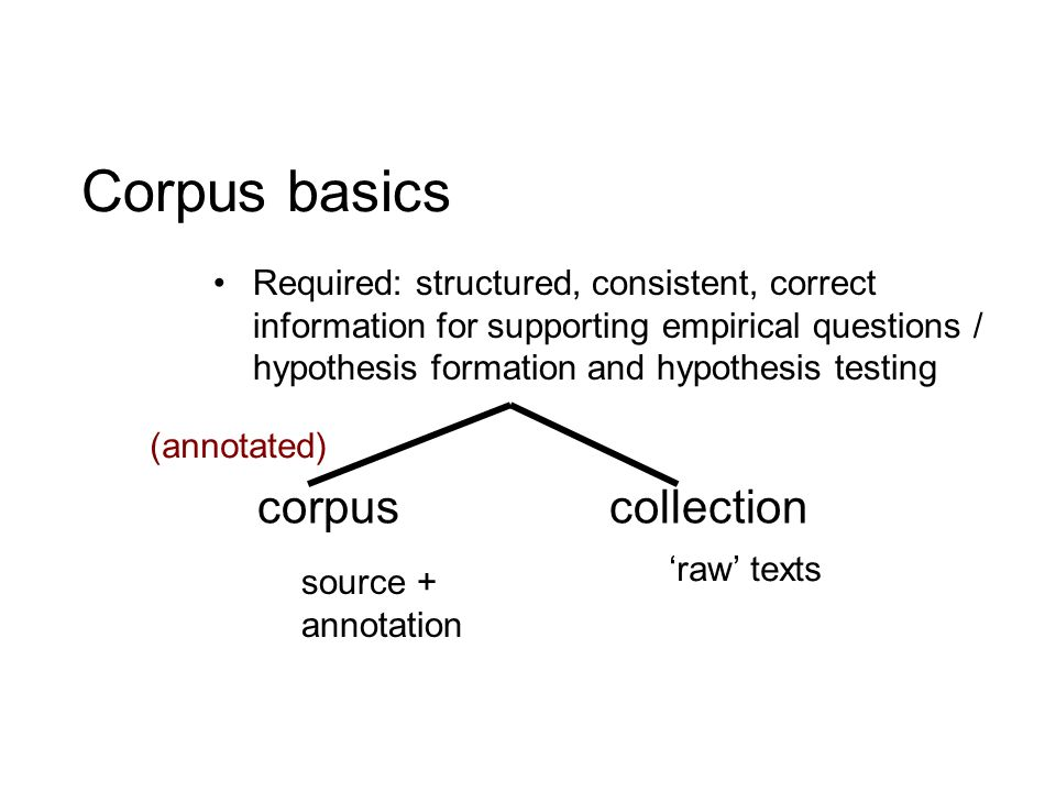 A frequent problem for sophisticated annotation: intersecting hierarchies These are some sentences with different kinds of things going on in them.
