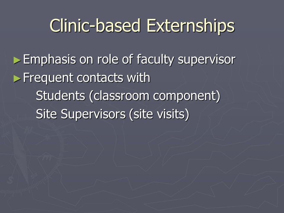 Large Programs, Unique Features ► Appalachian Mandatory externship for all students.