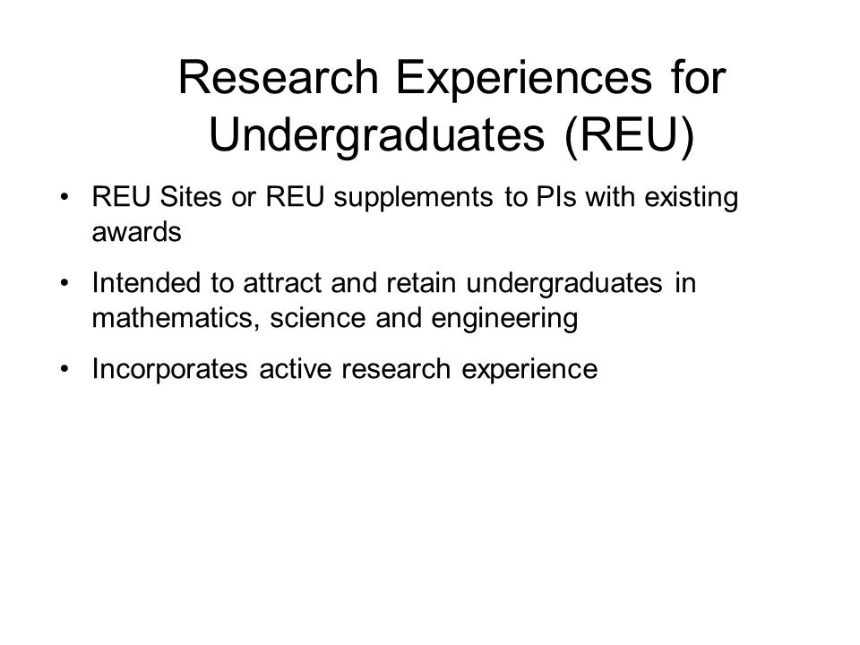 Integrative Graduate Education and Research Traineeship (IGERT) Developed to meet the challenges of educating future Ph.D.