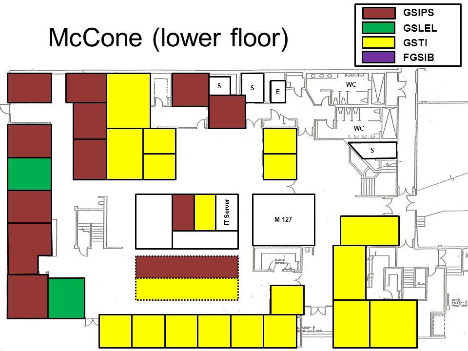 McCone (middle floor) M 238 M 238 A M 209 Boardroom Atrium WC GSIPS GSLEL GSTI FGSIB