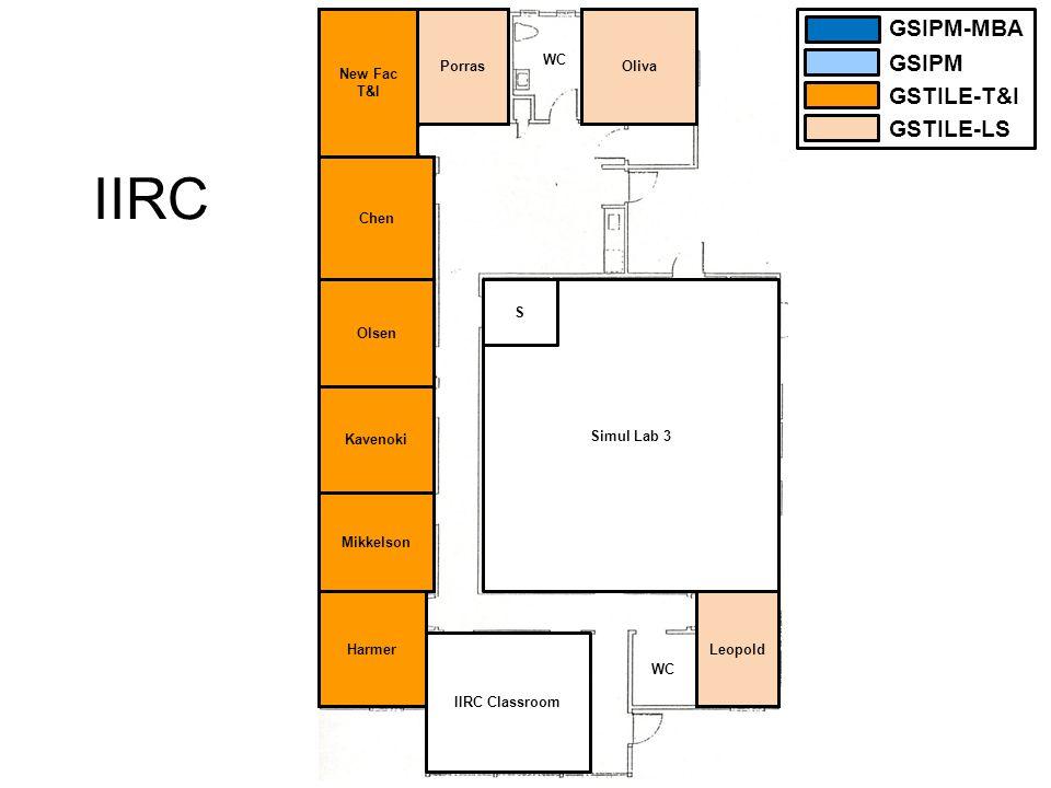 McCone (upper floor) Miller E GrotheHambletonAtwaterRhodesWoodsWestrupTuman Student MBA Harmer/ Lyon Utility