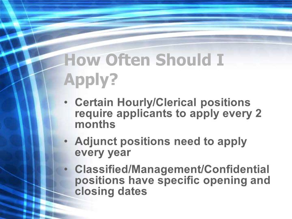 How Often Should I Apply.