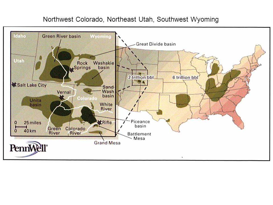 Northwest Colorado, Northeast Utah, Southwest Wyoming