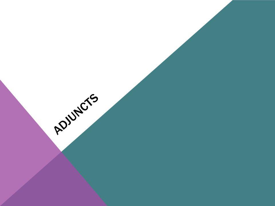ADJUNCTS