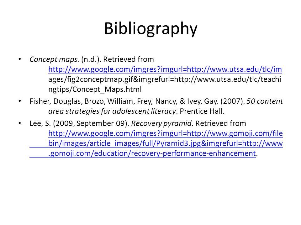 Bibliography Concept maps. (n.d.).